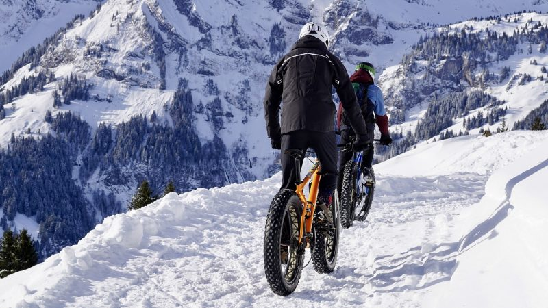 Himalayan trekking by cycling