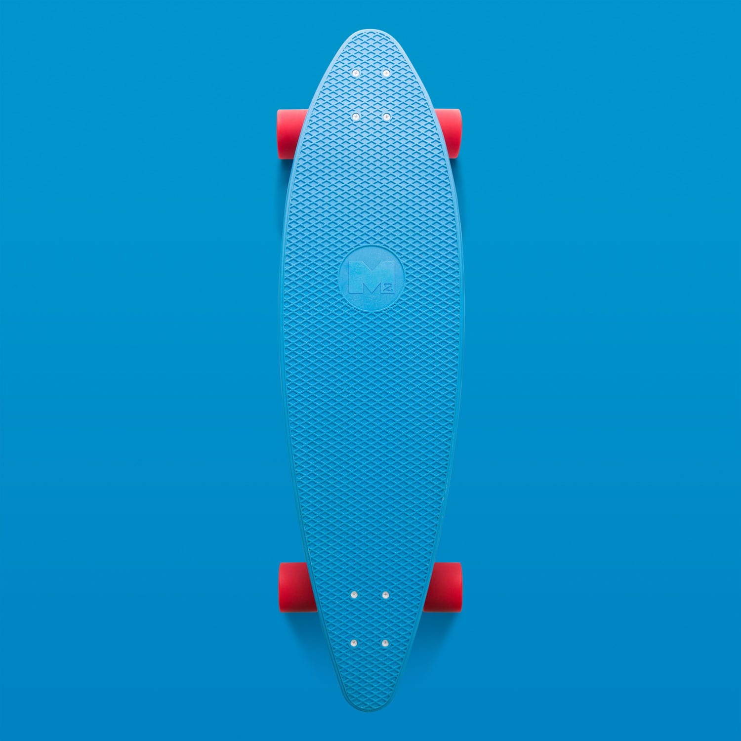 Skateboard blend well with color