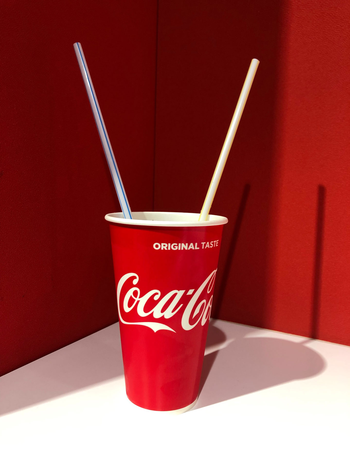 Quench your thirst with Coca Cola